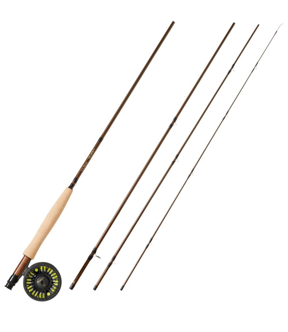 Quest Four-Piece Fly Rod Outfits, Four-Piece