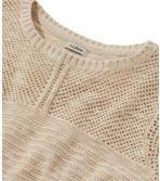 Women's Pointelle Mixed-Stitch Sweater, Tunic