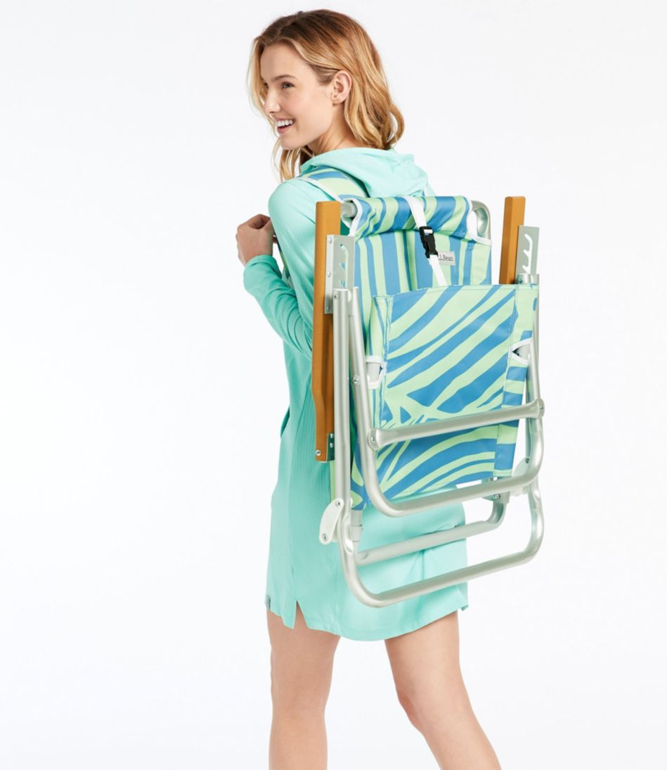 Backpack Beach Chair, Print
