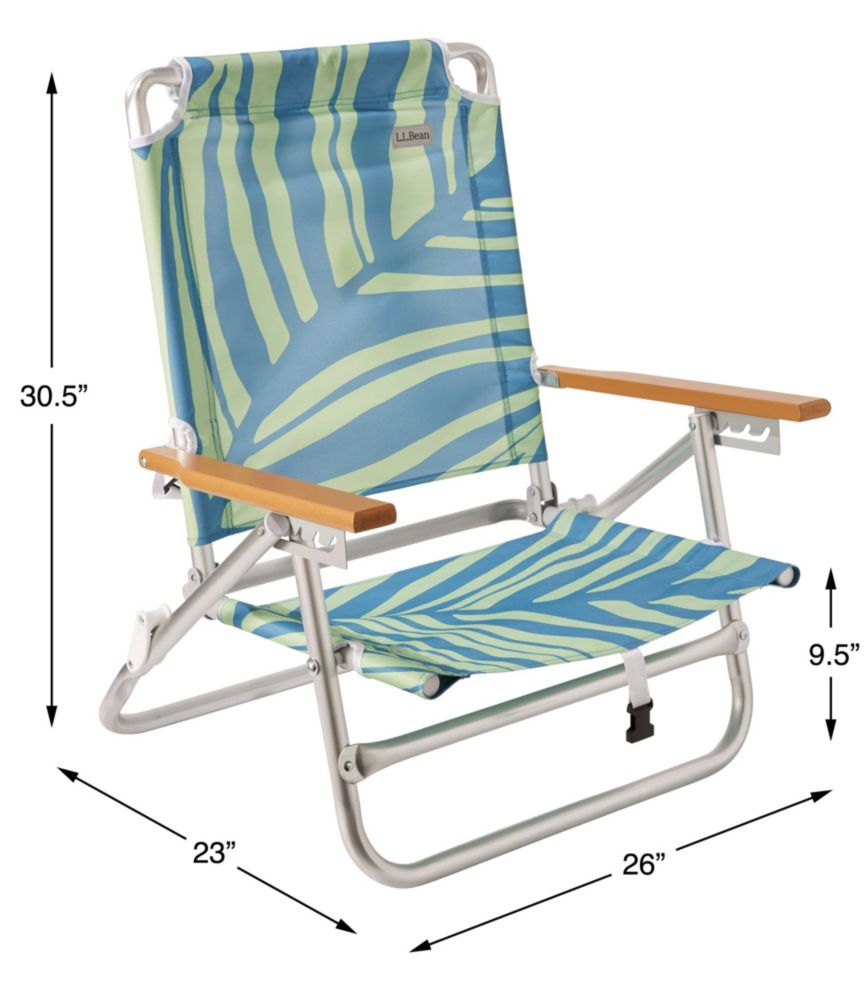 Picture of: Backpack Beach Chair Print