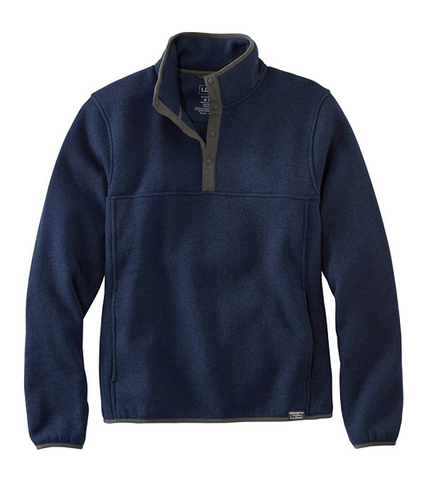 Sweater Fleece Pullover, Bright Navy, large image number 0