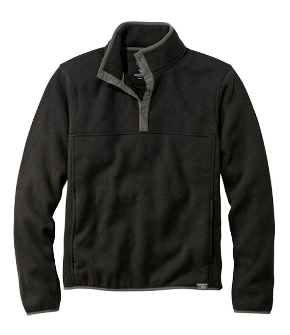 Sweater Fleece Pullover, Classic Black, large image number 0