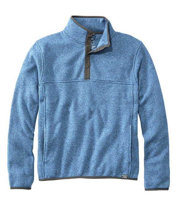 Sweater Fleece Pullover, Rustic Blue, large image number 0