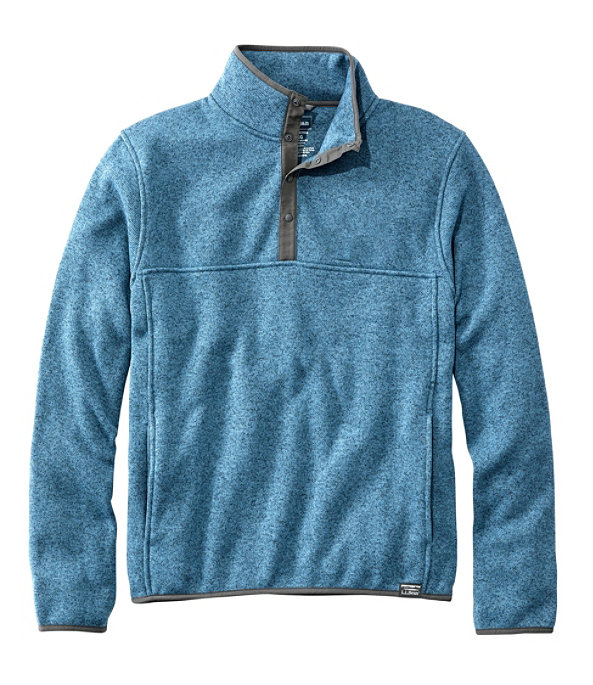 Sweater Fleece Pullover, Dusk Blue, large image number 0