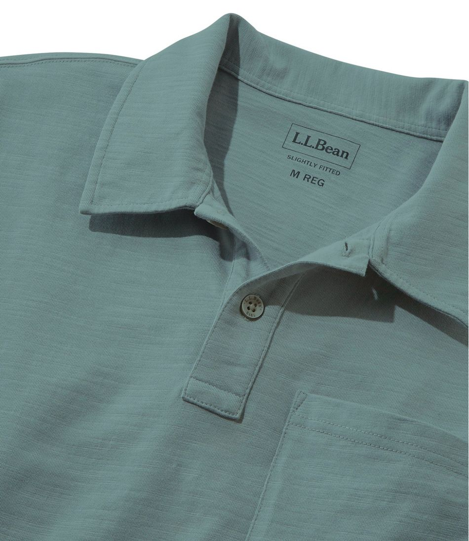 Men's Lakewashed® Organic Cotton Polo, Short-Sleeve