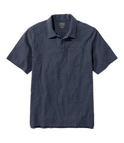 Men's Lakewashed® Organic Cotton Polo, Short-Sleeve