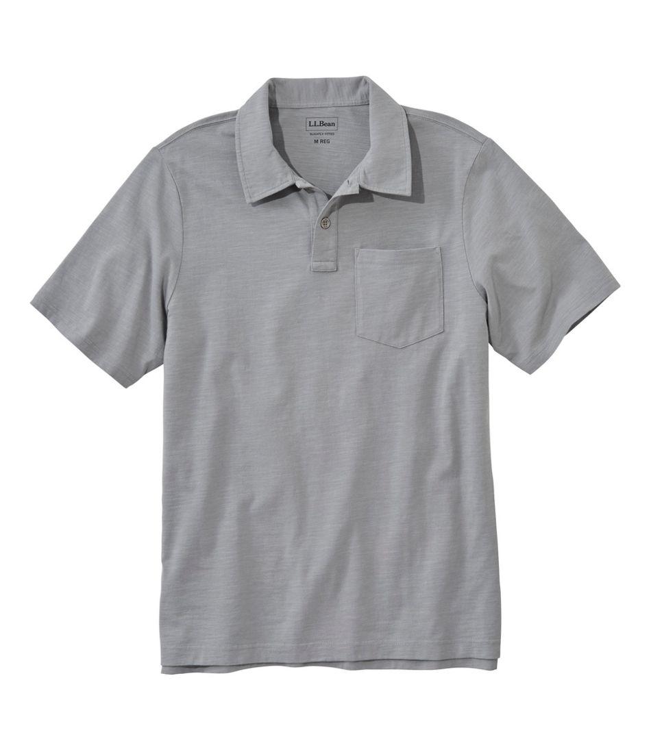 Lakewashed® Organic Cotton Polo, Short-Sleeve