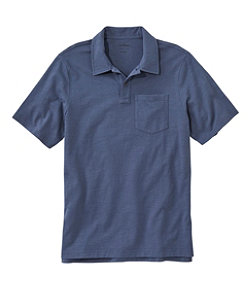 Lakewashed Organic Cotton Polo, Short-Sleeve