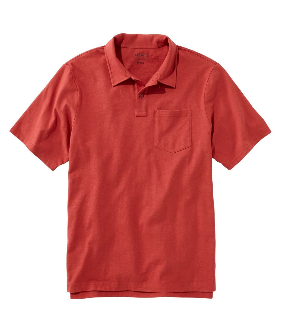 Lakewashed® Organic Cotton Polo, Short-Sleeve
