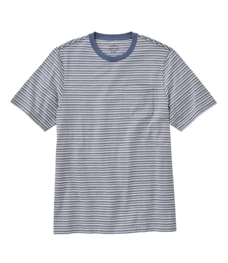Lakewashed® Organic Cotton Pocket Tee, Short-Sleeve, Stripe