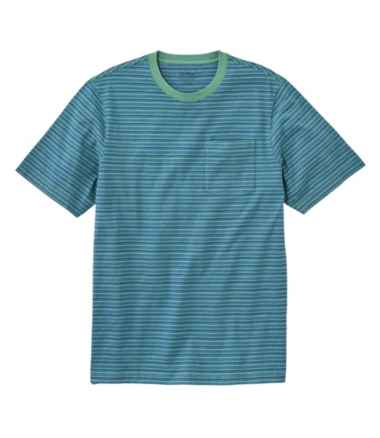 Lakewashed® Organic Cotton Pocket Tee, Short-Sleeve, Stripe