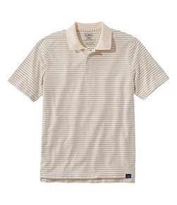 Vacationland Pima Cotton Blend Polo, Short-Sleeve, Stripe