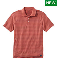 Vacationland Pima Polo, Short-Sleeve, Stripe