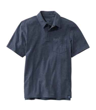 Allagash Pima Cotton Blend Polo Shirt, Short-Sleeve