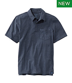 Allagash Pima Cotton Blend Polo Shirt, Short Sleeve