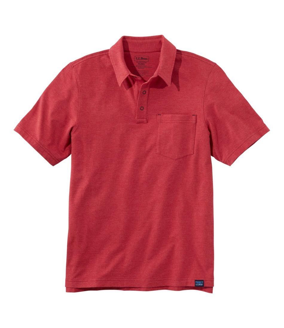 Allagash Pima Cotton Blend Polo Shirt, Short Sleeve