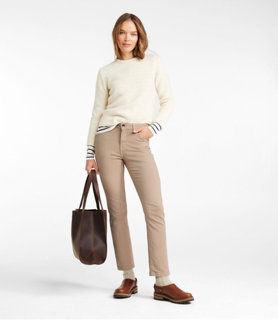 True Shape Ankle Jeans, Classic Slim Leg Colored