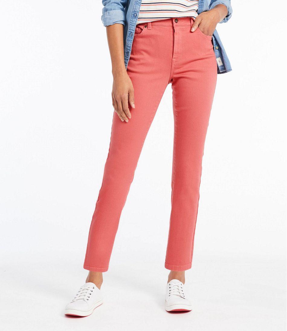 Women's True Shape Ankle Jeans, Classic Slim Leg Colors