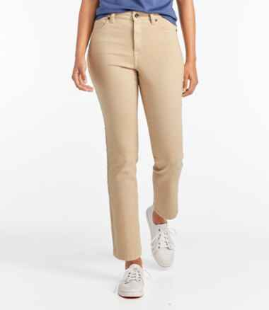 True Shape Ankle Jeans, Classic Slim Leg Colored