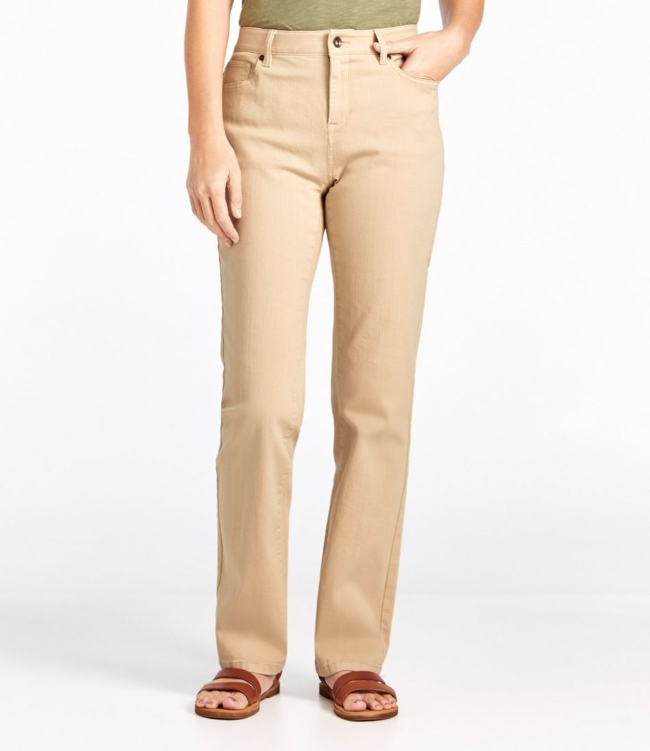 True Shape Jeans, Classic Fit Straight-Leg Colored