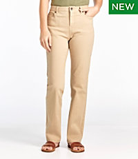 True Shape Jeans, Classic Fit Straight-Leg Colored