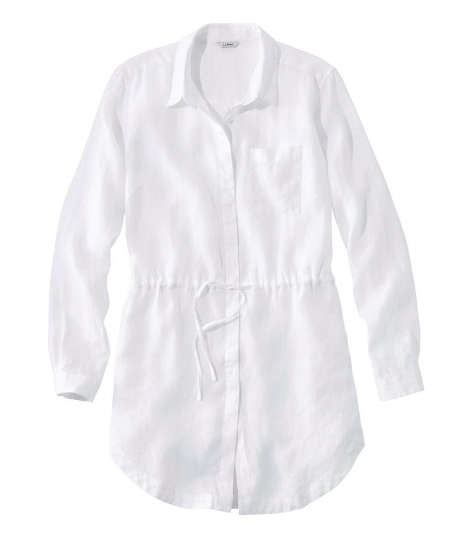 Premium Washable Linen Drawstring Tunic