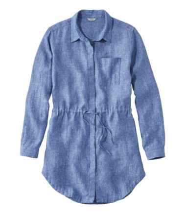 Premium Washable Linen Drawstring Tunic