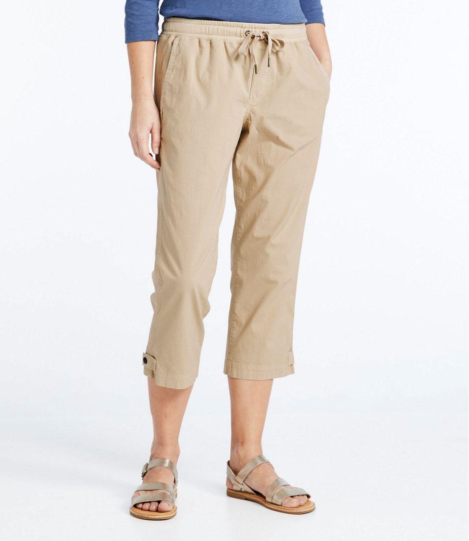 Women's Stretch Ripstop Pull-On Capri Pants