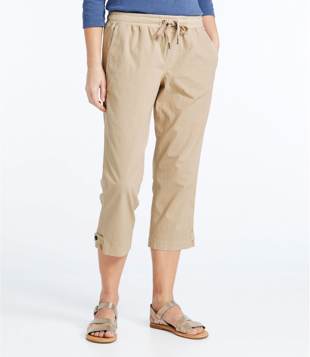 Women's Stretch Ripstop Pull-On Capri Pants