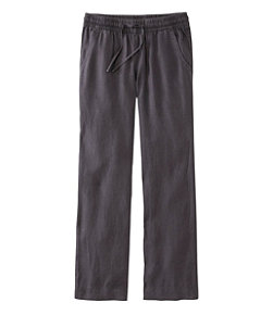 Women's Premium Washable Linen Pull-On Pants
