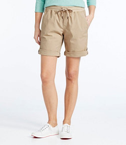 Stretch Ripstop Pull-On Shorts