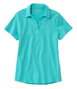 Women's L.L.Bean Polo, Short-Sleeve