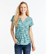Women's Short-Sleeve Streamside Tee, Print