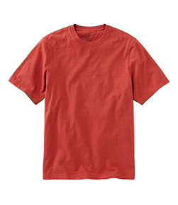 Men's Lakewashed Organic Cotton Tee, Short-Sleeve