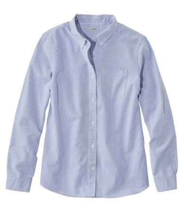 Lakewashed® Organic Cotton Oxford Shirt, Stripe