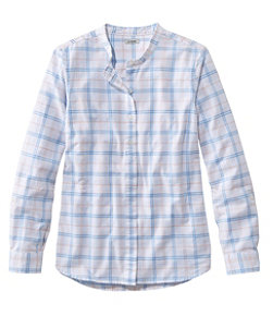 Lakewashed Organic Cotton Oxford Shirt, Roll Tab Plaid