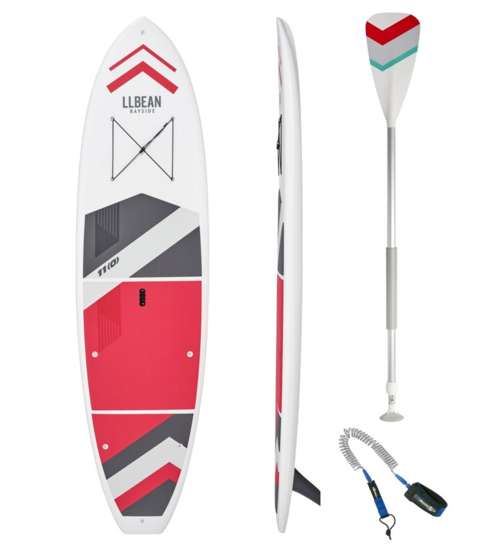 L.L.Bean Bayside Cross Tough-Tec Stand-Up Paddleboard Package, 11'