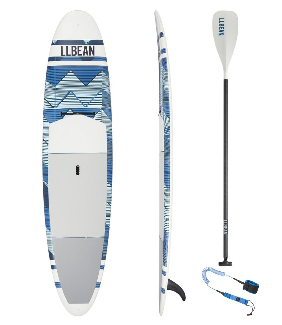 """L.L.Bean Breakwater ACE-TEC Stand-Up Paddleboard Package, 10'6"""" Print"""