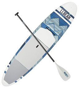"L.L.Bean Breakwater ACE-TEC Stand-Up Paddleboard Package, 10'6"" Print"