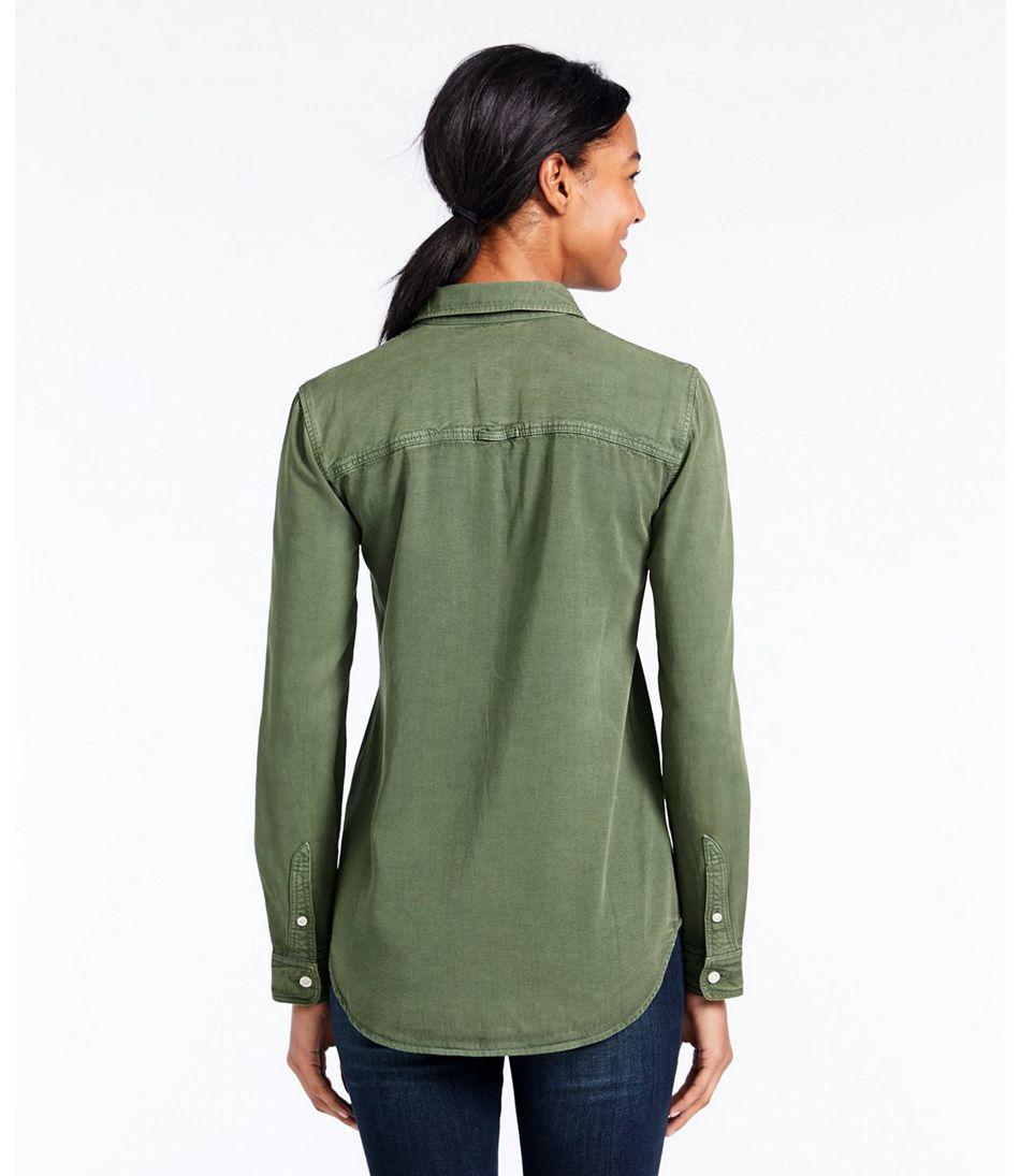Signature Utility Shirt, Garment-Dyed