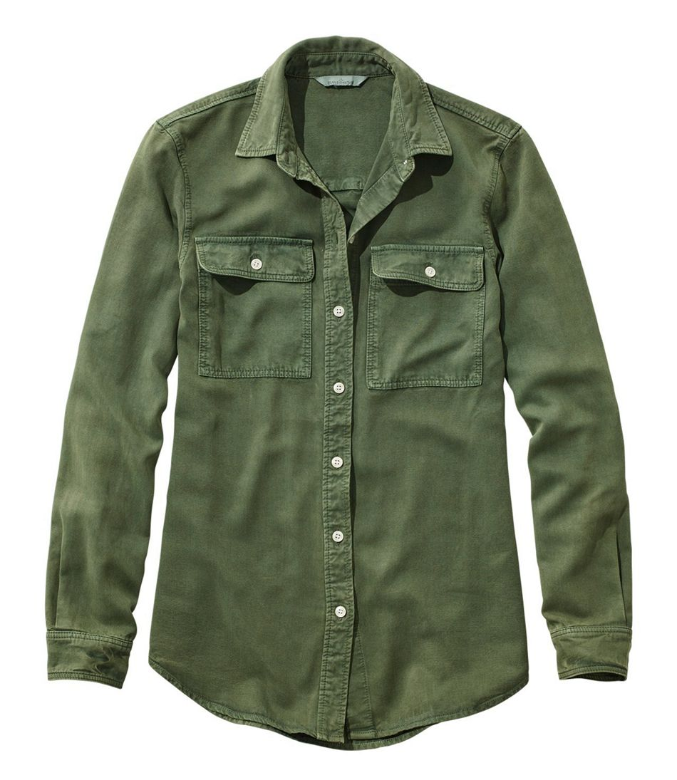 Women's Signature Utility Shirt, Garment-Dyed