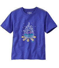 Graphic Tee Glow in the Dark Little Kids'