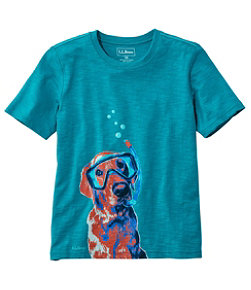 Kids' Graphic Tee Glow in the Dark Little Kids'