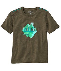 Kids' Graphic Tee Glow in the Dark