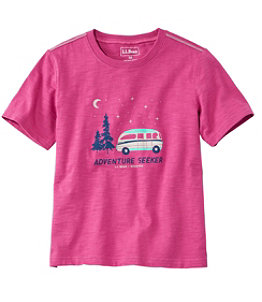 Kids' Graphic Tee, Glow-in-the-Dark