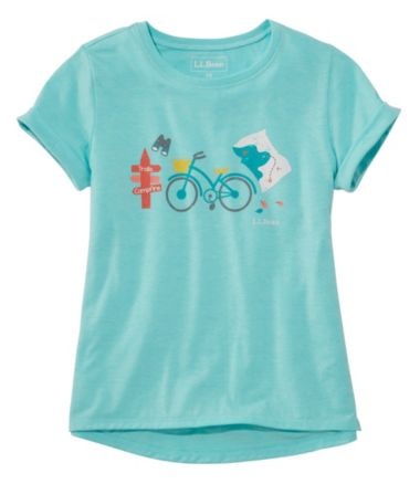 Girls' Pathfinder Tee, Short Sleeve, Graphic