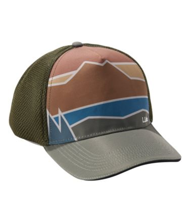 L.L.Bean Performance Trucker Hat, Print