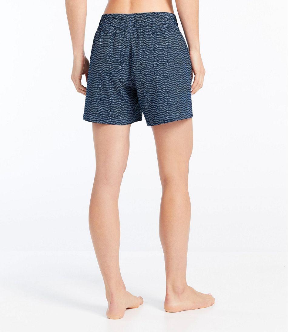 """Women's L.L.Bean Stretch Board Shorts, Pull-on Print 5"""""""