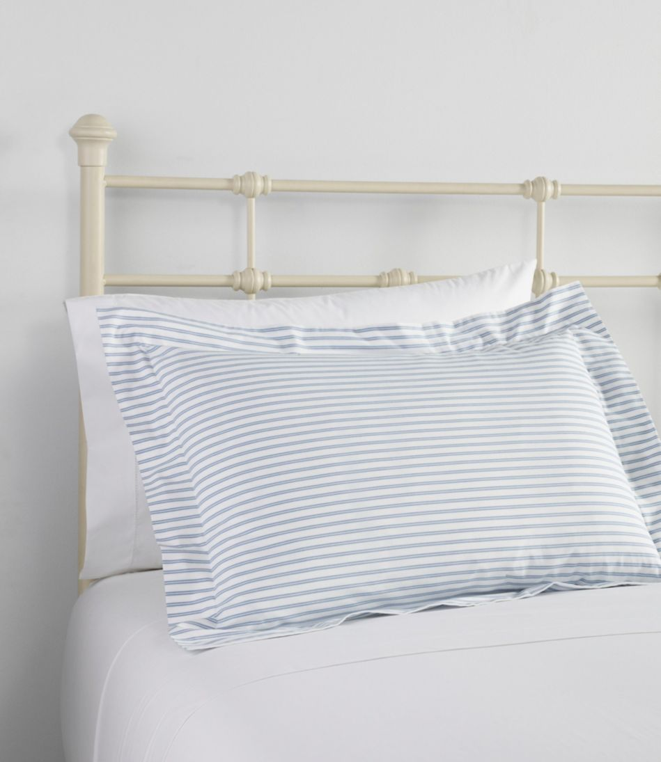 Premium Egyptian Percale Comforter Cover Collection, Stripe
