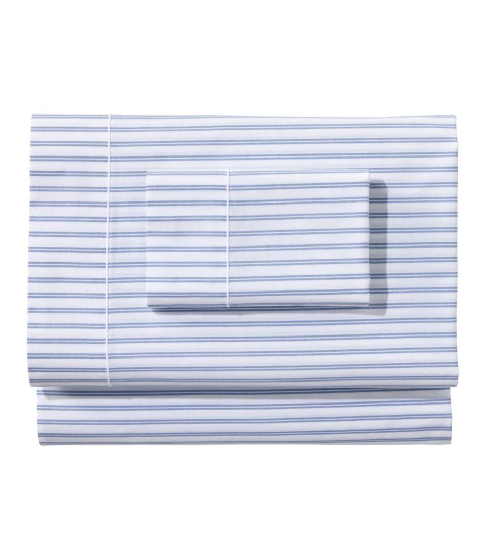 Premium Egyptian Percale Sheet Collection, Stripe